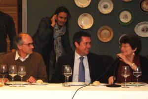 La Presidenta y el Vicepresidente de ISA con Juan Espadas