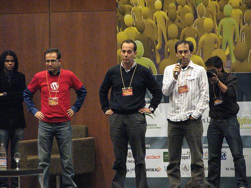 Luis Rull, Benito Castro y José Luis Antúnez