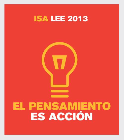 El pensamiento es acción - Feria del libro 2013 - ISA