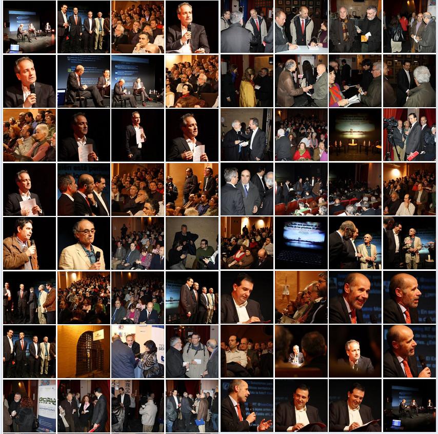 Fotos conferencia ISA Sevilla y su futuro