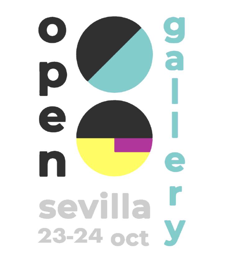 Cartel Open Gallery Sevilla 2020